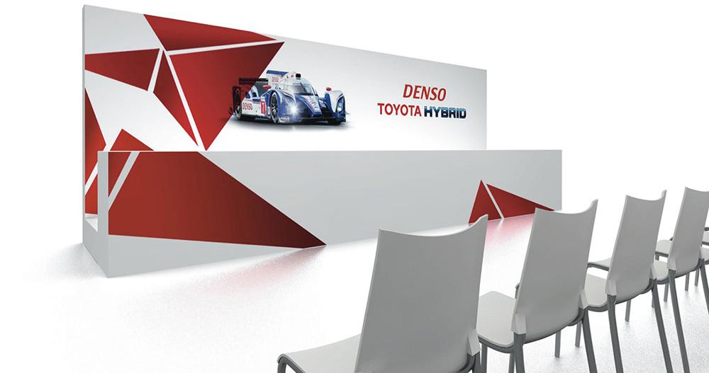 Toyota Le Mans Motor Sport Event Design + Konzept Presse Konferenz