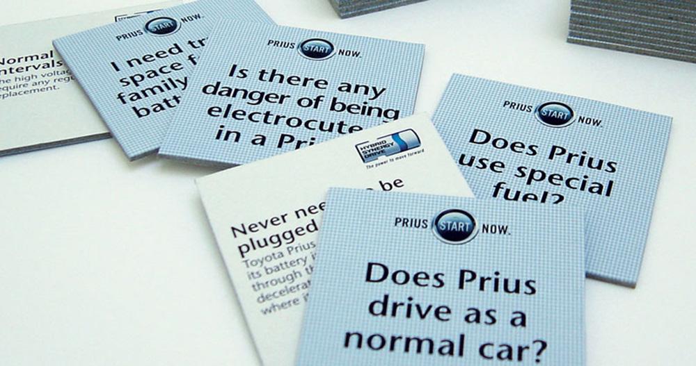 Prius Memory Cards