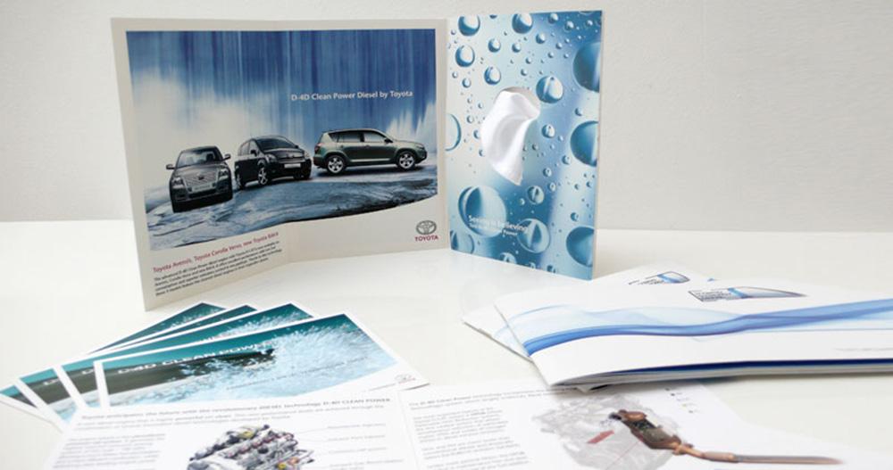 Toyota D-4D Clean Diesel Broschüre