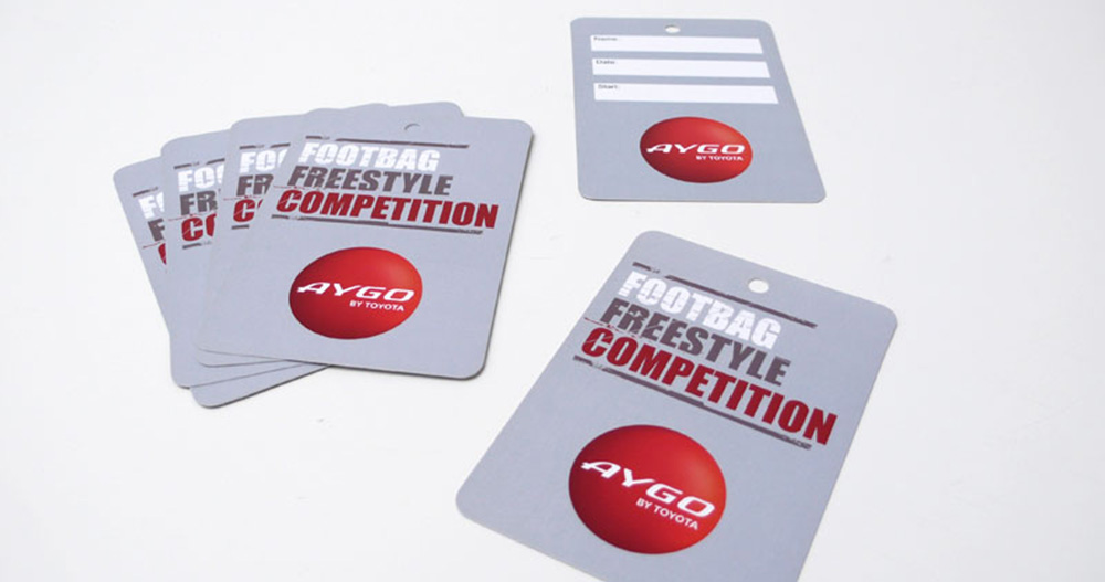 Print AYGO Football Freestyle Competition Cards