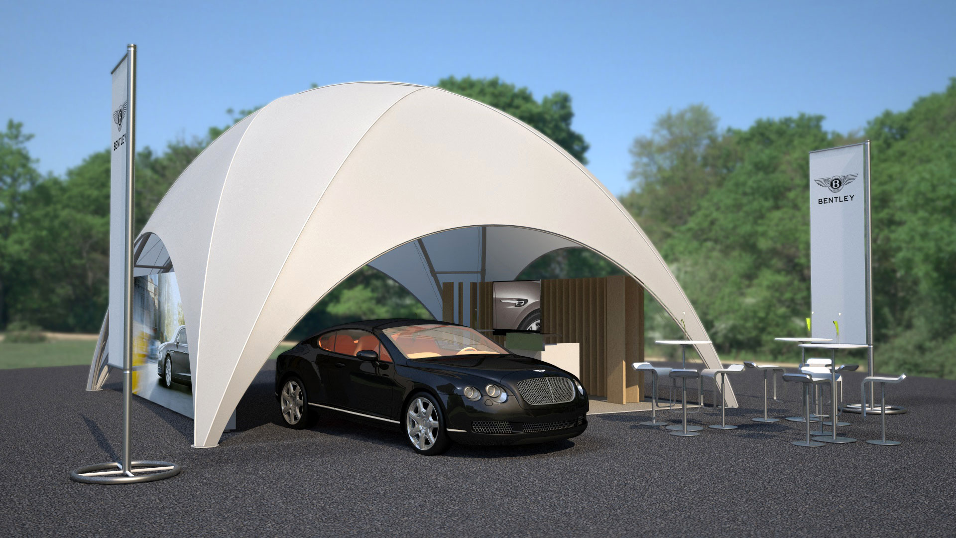 Bentley Outdoor Event Kit