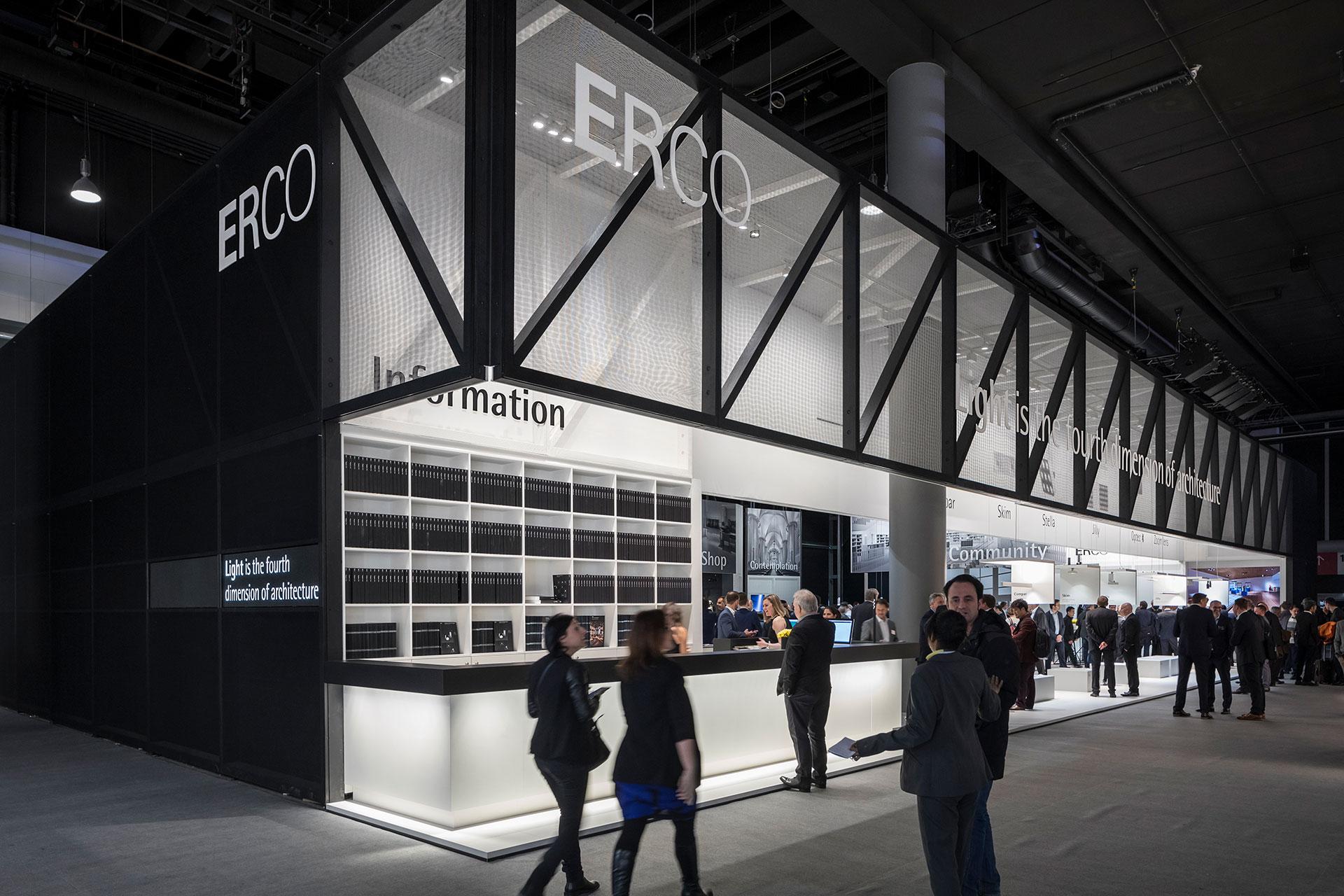 ERCO Messestand Light and Building 2018 Frankfurt
