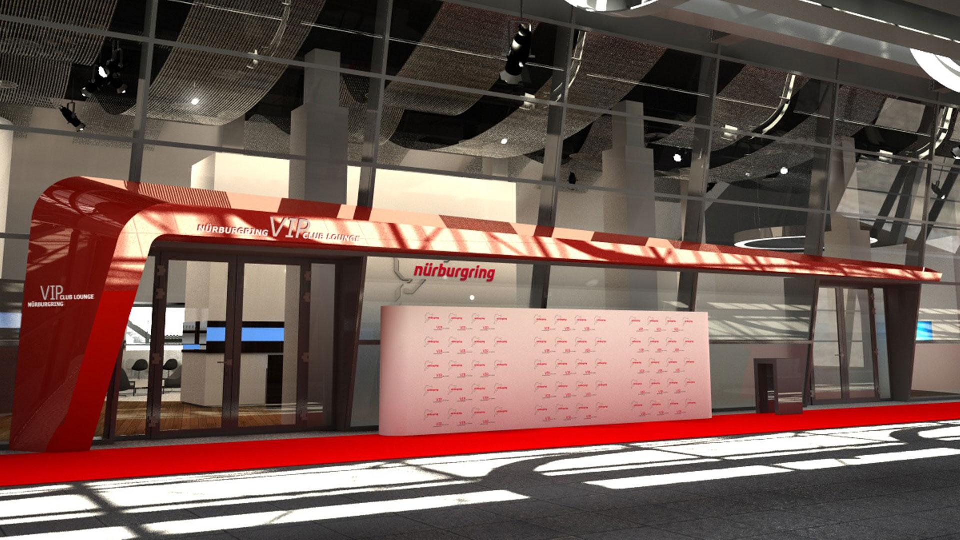 Nürburgring VIP Club Lounge Eingangsbereich