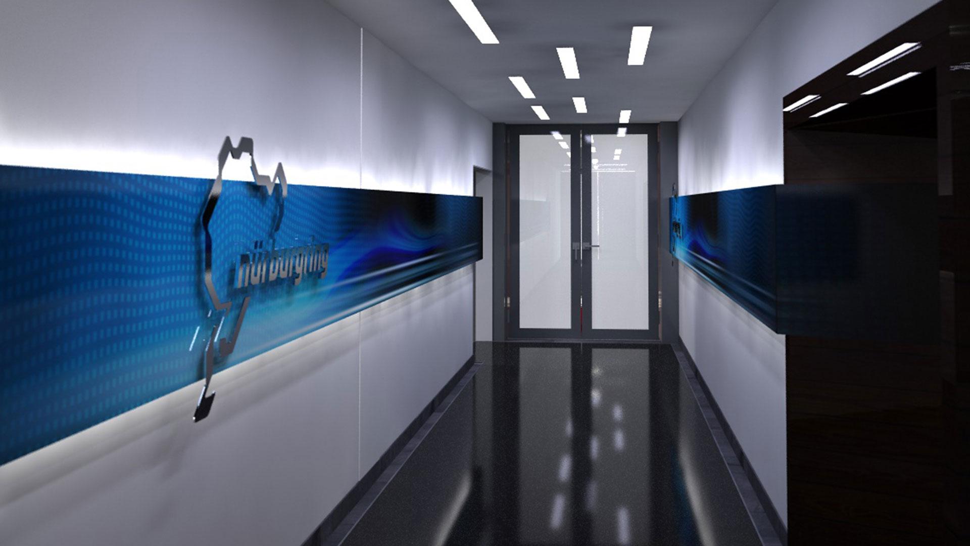 Nürburgring VIP Club Lounge Zugang Tribühne