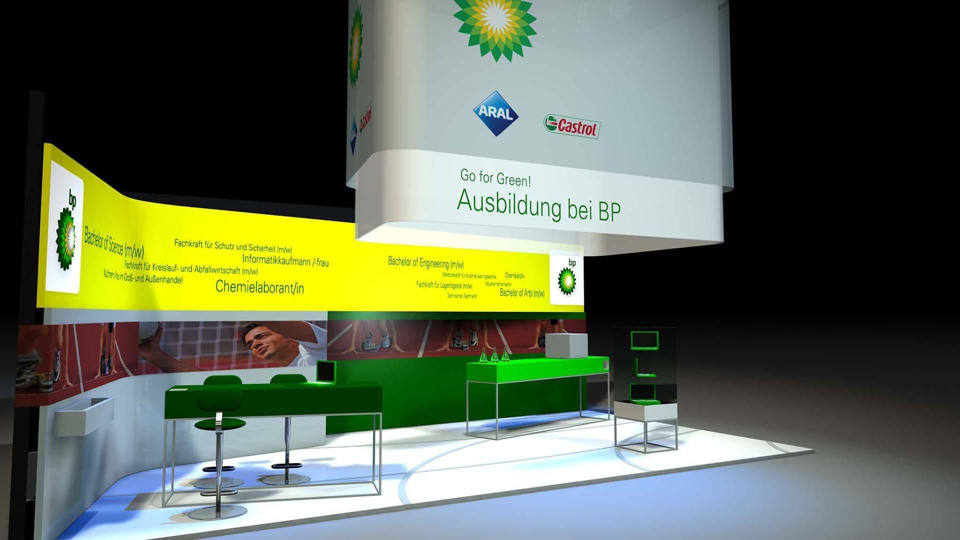 BP Messestand
