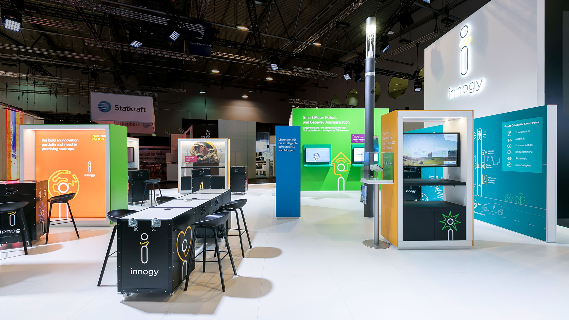 Innogy Messestand E-World 2018 Essen