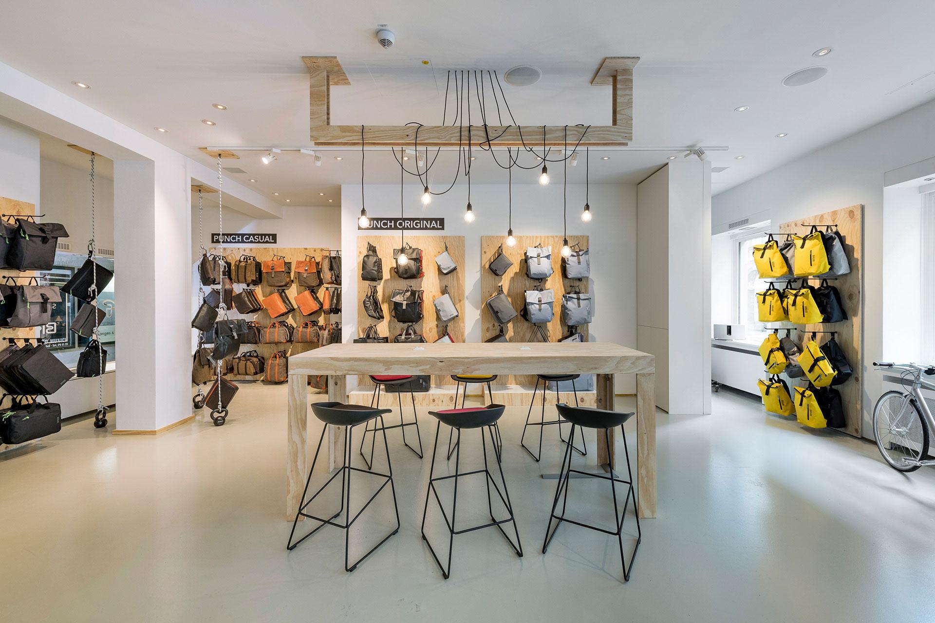 BREE Urban Showroom Konzept Pop Up Store München Punch Präsentation